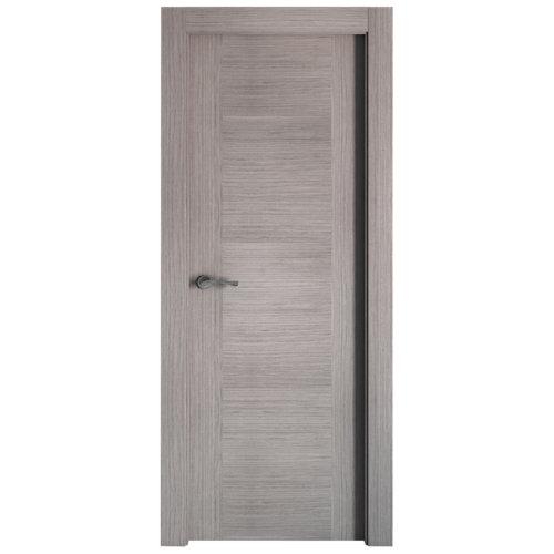 puerta niza gris de apertura derecha de 72.5 cm