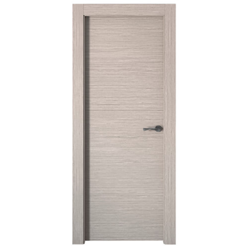 Puerta viena gris de apertura izquierda de 72.5 cm