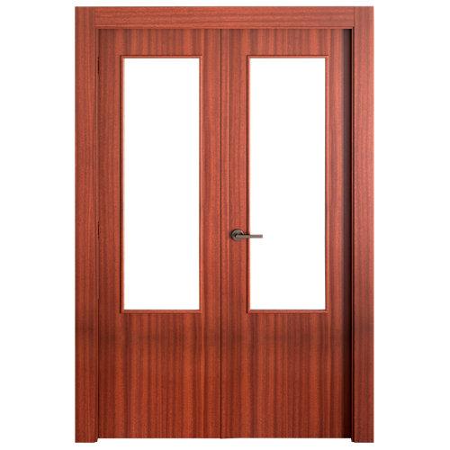 puerta lisboa sapelly de apertura derecha de 125 cm