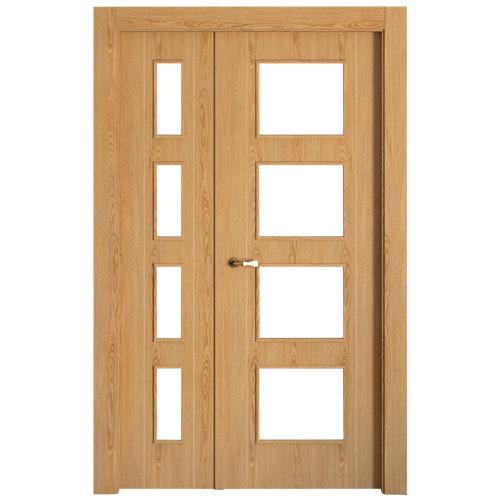 puerta sidney roble de apertura izquierda de 105 cm
