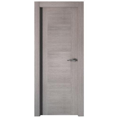puerta niza gris de apertura izquierda de 82.5 cm