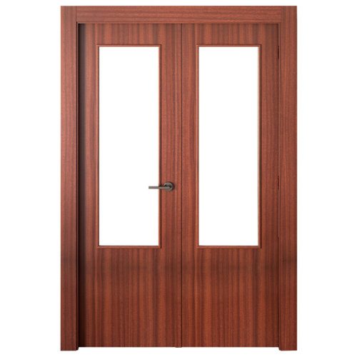 puerta lisboa sapelly de apertura izquierda de 125 cm
