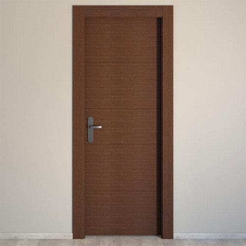 puerta viena wengué de apertura derecha de 82.5 cm