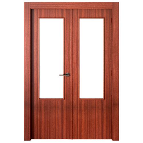 puerta lisboa sapelly de apertura izquierda de 145 cm