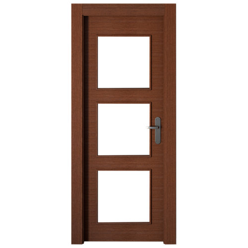 puerta viena wengué de apertura izquierda de 82.5 cm