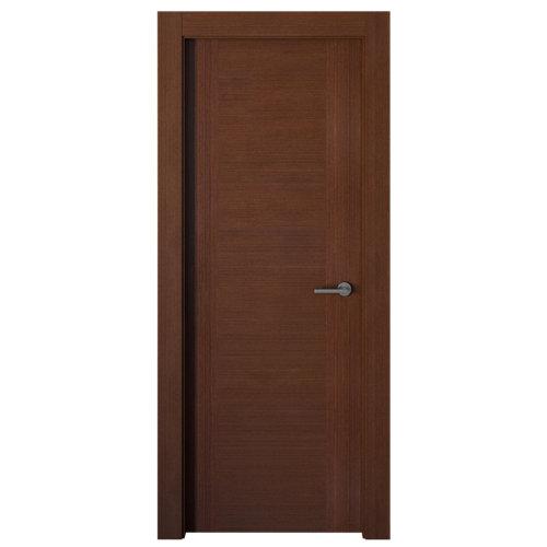 puerta niza wengué de apertura izquierda de 62.5 cm