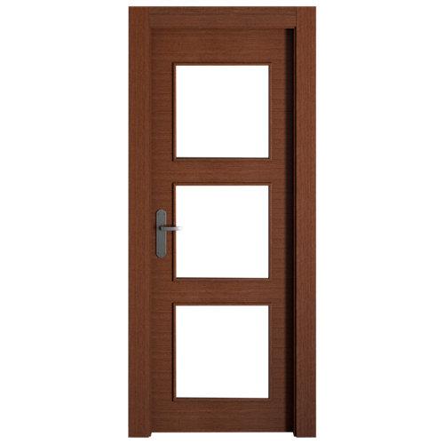 puerta viena wengué de apertura derecha de 72.5 cm