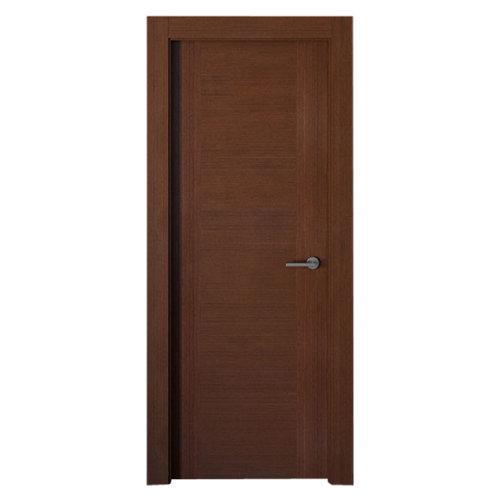 puerta niza wengué de apertura izquierda de 82.5 cm