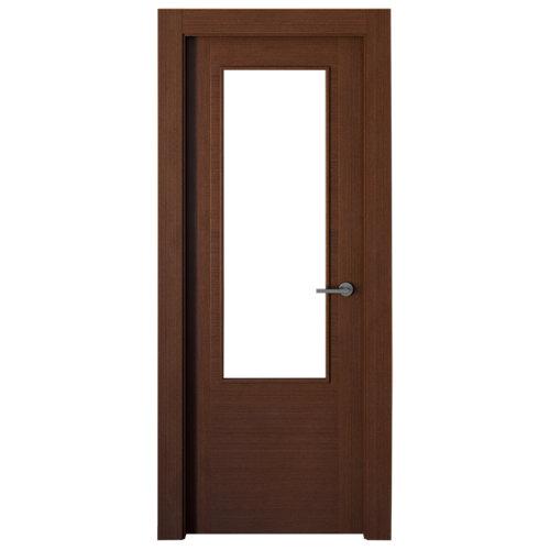 puerta niza wengué de apertura izquierda de 72.5 cm