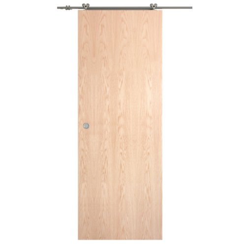 Puerta de interior corredera lisboa roble de 72.5 cm