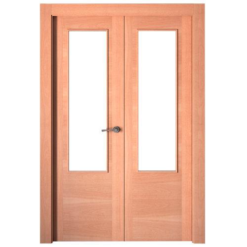 puerta niza sapelly de apertura derecha de 145 cm