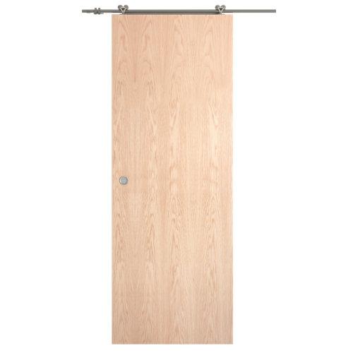 Puerta de interior corredera lisboa roble de 82.5 cm