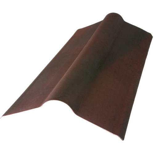 Cumbrera onduline easyfix marrón 100x50 cm