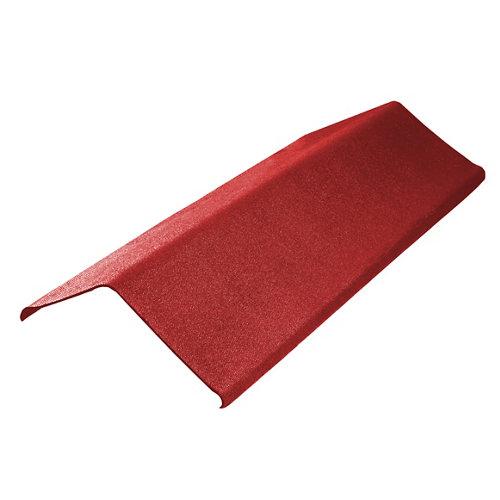 Remate lateral onduline easyfix rojo 100x20 cm
