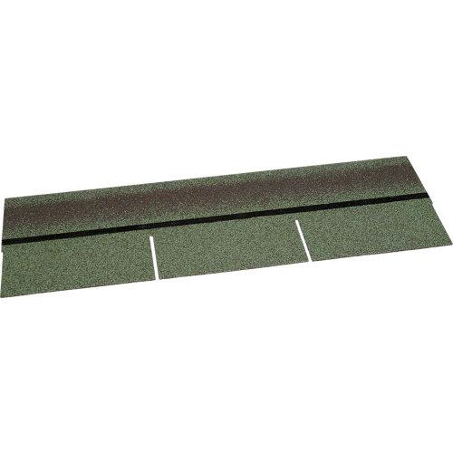 Tégola asfáltica standard verde galicia 1000x1050x3.5 mm