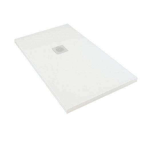 Plato ducha rectangular boston 140x70 cm blanco