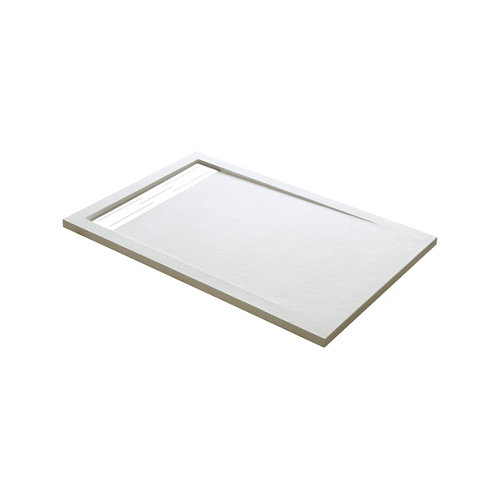 Plato ducha rectangular atlas 70x70 cm blanco