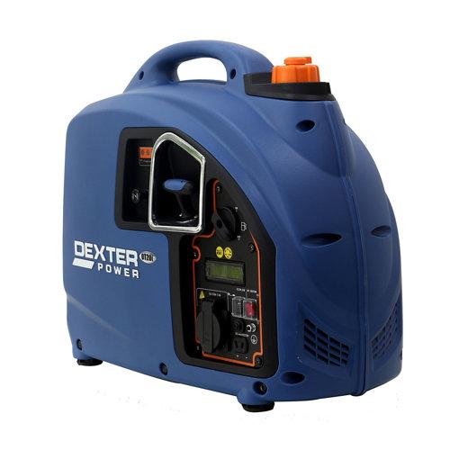 Generador dexter power dt20i gasolina sin plomo de 1600 w