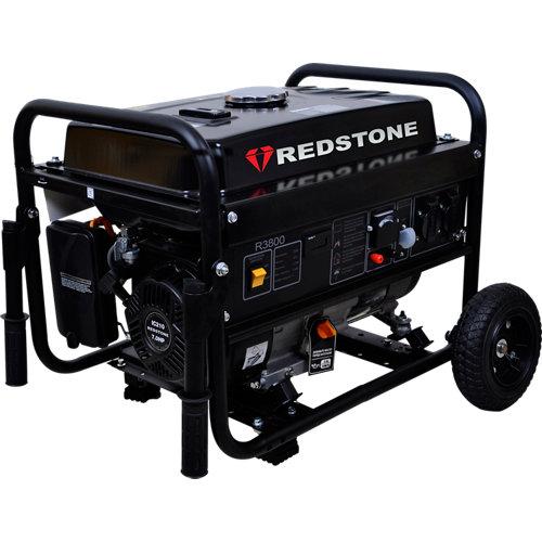 Generador redstone r3800 gasolina sin plomo de 3000 w