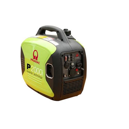 Generador pramac p2000i gasolina sin plomo de 1600 w