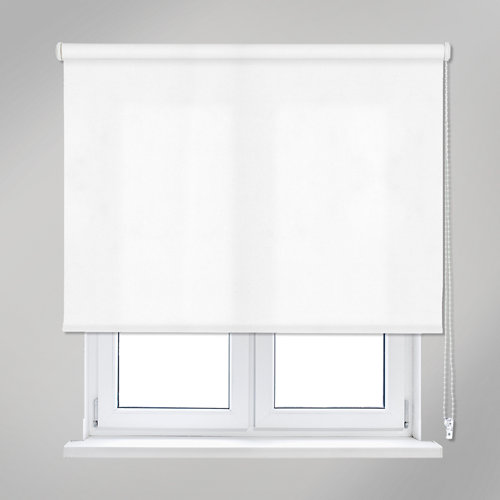 Estor enrollable trends blanco de 90x250cm