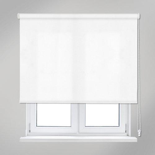 Estor enrollable trends blanco de 105x250cm