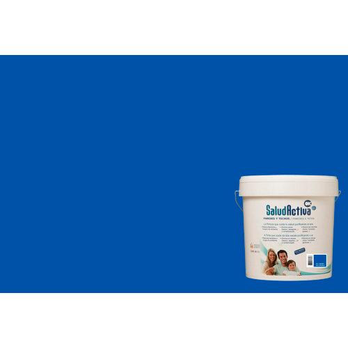 Pintura paredes y techos salud activa azul marino mate 15l