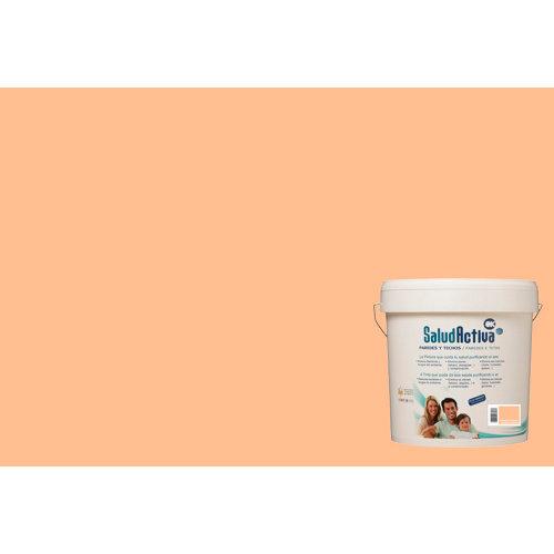 Pintura paredes y techos salud activa naranja mate 15l