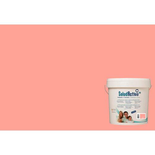 Pintura paredes y techos salud activa salmón mate 15l