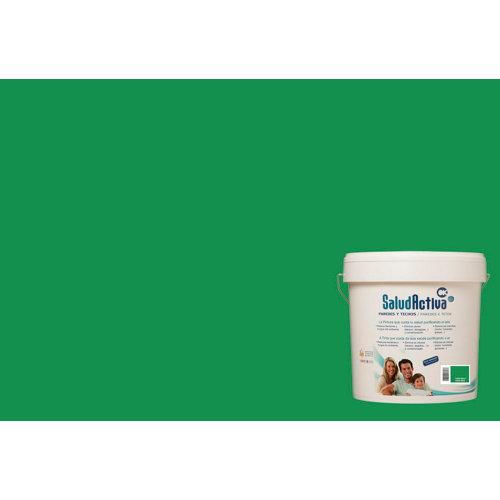Pintura paredes y techos salud activa verde oliva mate 15l