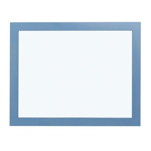 Espejo de baño roma azul 100 x 80 cm