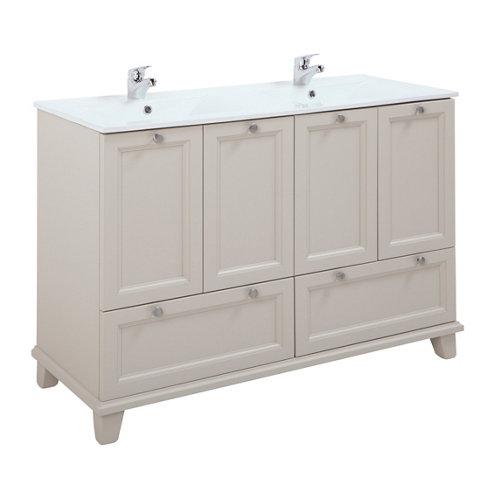 Mueble baño unike perla 122.3 x 46.6 cm
