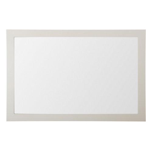 Espejo de baño roma amarillo / dorado 120 x 80 cm