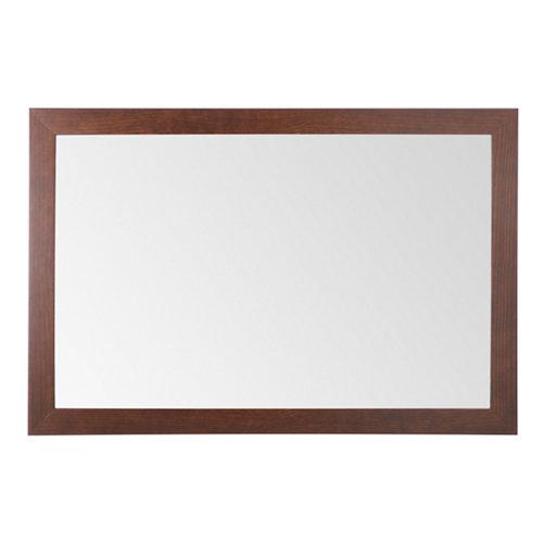 Espejo de baño roma nogal 120 x 80 cm