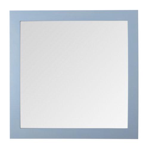 Espejo de baño roma azul 80 x 80 cm