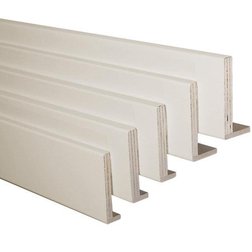 Kit de 5 tapetas en l mdf piedra 80 x 12/10 mm