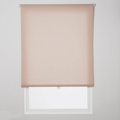Estor enrollable translúcido easy ifit beige de 76x190cm