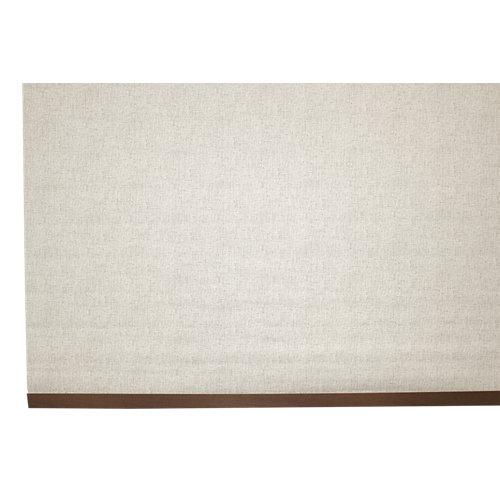 Estor enrollable opaco caleta beige de 124x230cm