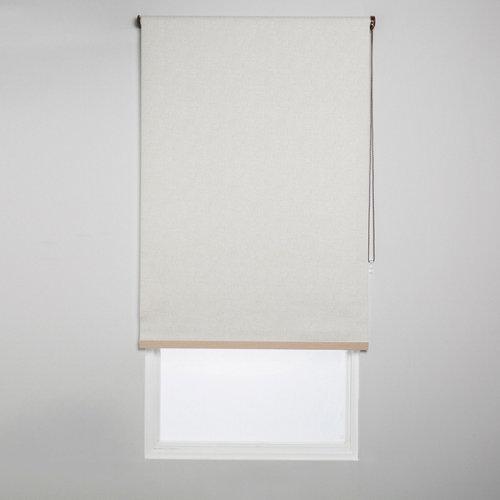 Estor enrollable opaco caleta beige de 184x230cm