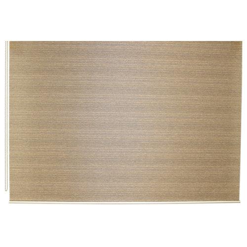 Estor enrollable translúcido city marrón de 184x230cm