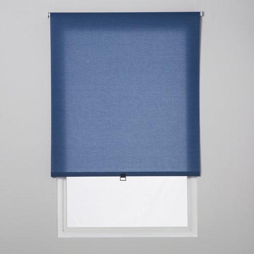 Estor enrollable translúcido easy ifit azul de 41x190cm