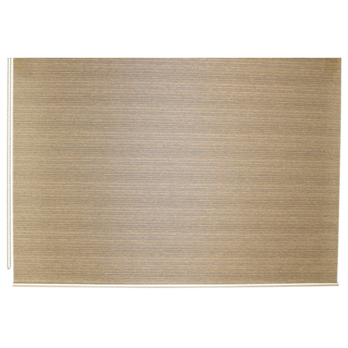Estor enrollable translúcido city marrón de 154x230cm