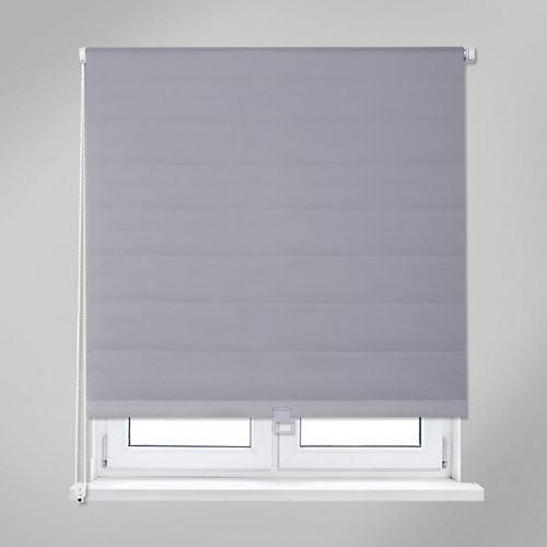Estor enrollable opaco easy ifit gris de 66x190cm
