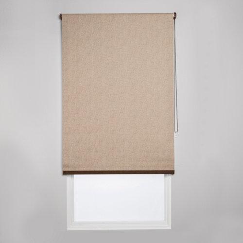 Estor enrollable opaco caleta ln beige de 94x230cm