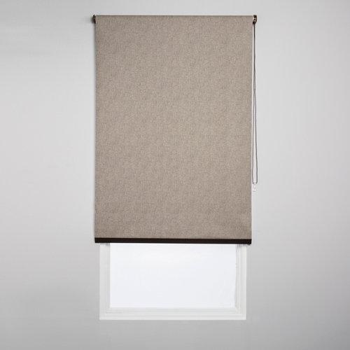 Estor enrollable opaco caleta gris de 94x230cm