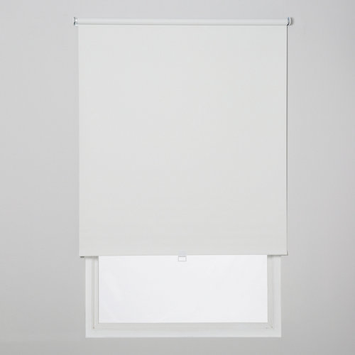 Estor enrollable opaco easy ifit blanco de 66x190cm