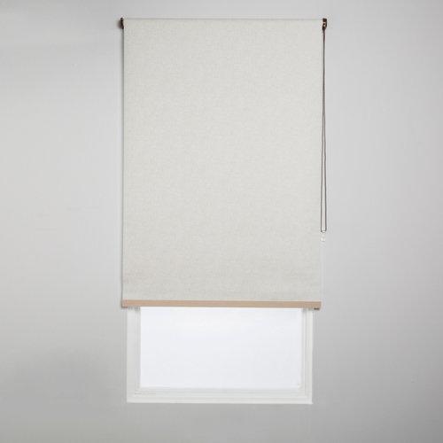 Estor enrollable opaco caleta cr beige de 94x230cm