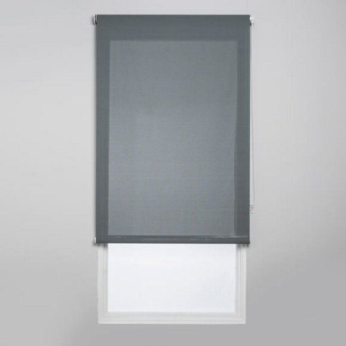 Estor enrollable screen industry gris de 120x250cm