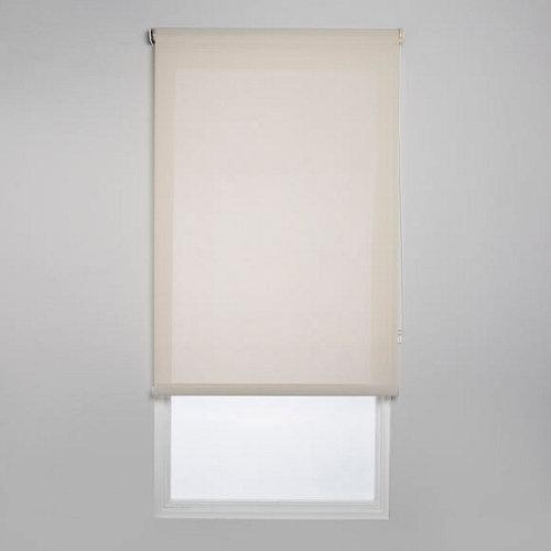 Estor enrollable screen industry beige de 90x250cm