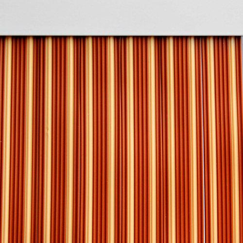 Cortina de puerta beige de 90 x 210 cm